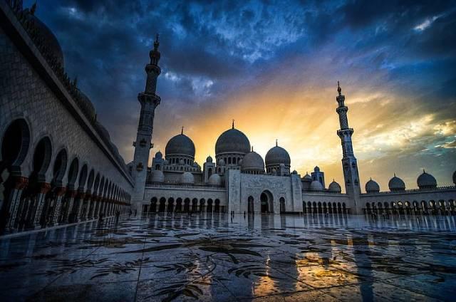 معماری اسلامی در جهان   چیدمانه