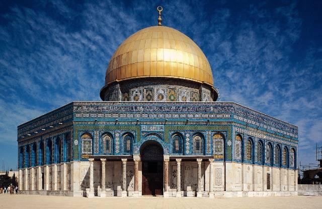 معماری اسلامی مسجد الاقصی   چیدمانه