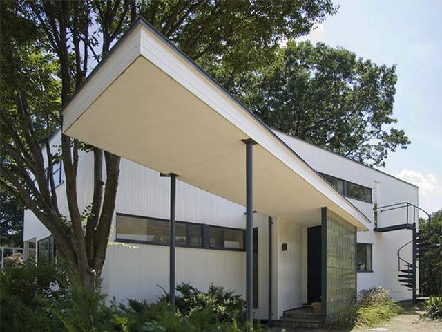 خانه گروپیوس در ماساچوست   چیدمانه